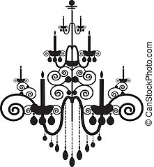 Chandelier - Illustration - luxury lighting