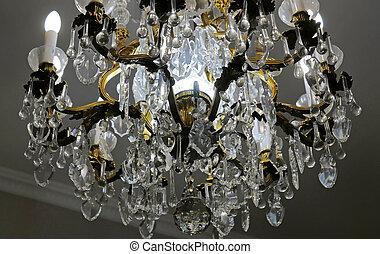 chandelier old lamp