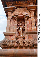Chandrasekhara Siva, western niche, Brihadisvara Temple,...