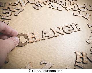 change., γενική ιδέα , τυπογραφία , λόγια