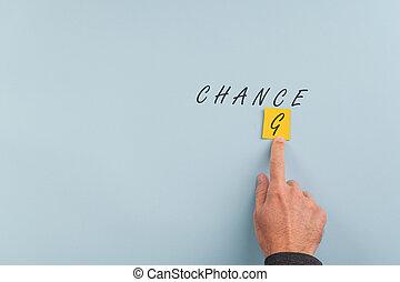 Change creating chance