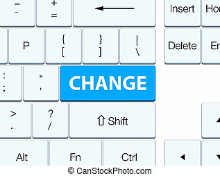 Change cyan blue keyboard button
