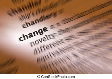 Change - Dictionary Definition