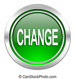 change icon, green button