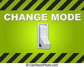 Change Mode concept