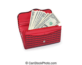Change Purse With Money