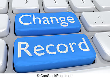 Change Record concept
