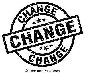 change round grunge black stamp