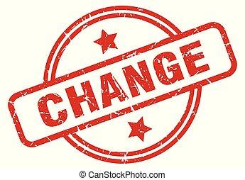 change round grunge isolated stamp