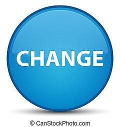 Change special cyan blue round button
