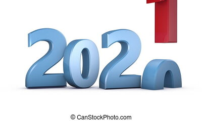 change text 2020 in 2021