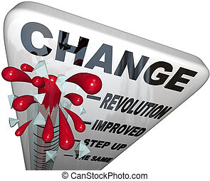 Change Thermometer Improvement and Successful Growth - A ...
