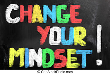 Change Your Mindset Concept
