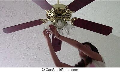 Changing Light Bulbs
