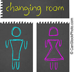 Changing room - Creative design of changing room