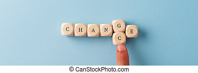 Changing the word Change in to Chance