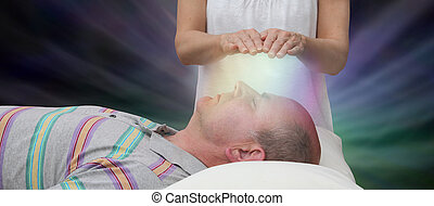 Channelling Reiki Healing Energy
