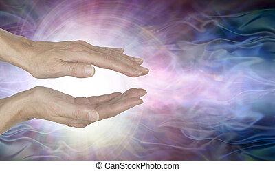 channelling, vórtice, curación, energía