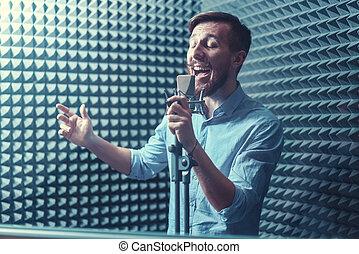 chanteur, jeune