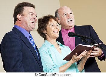 chanteurs, spirituel