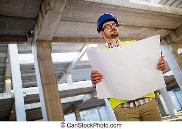 chantier, fonctionnement, ingénieurs