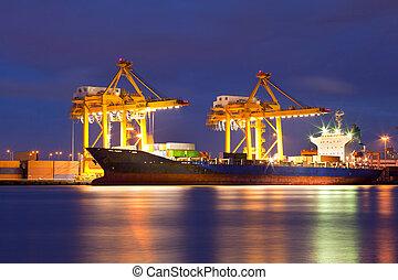 chantier naval, logistique
