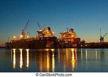 chantier naval, riga