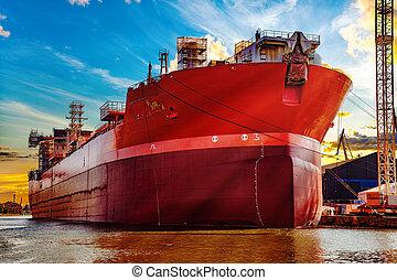 chantier naval, vue