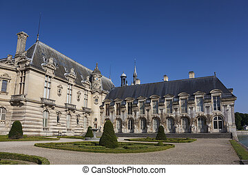 Chantilly castle, Picardie, France