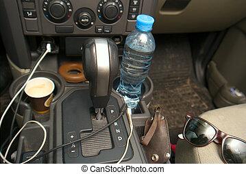 Chaos in a car