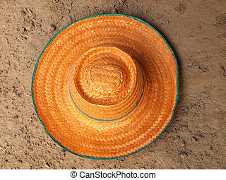 chapéu, agricultor