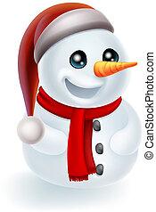 chapéu boneco neve, natal, santa