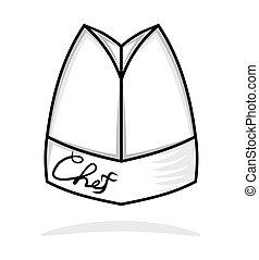 chapéu cozinheiro