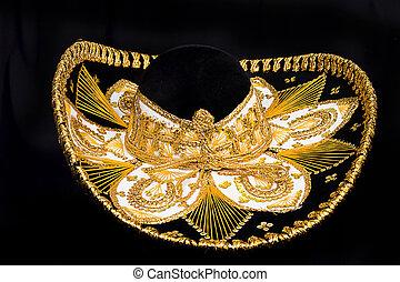 chapéu mexicano, ornate