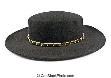 chapéu preto, corrente