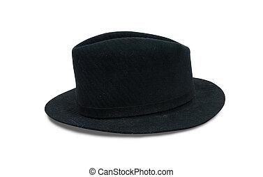 chapéu preto, fedora