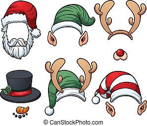 chapéus, natal