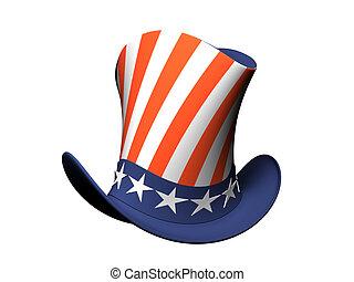 chapeau, dessin animé