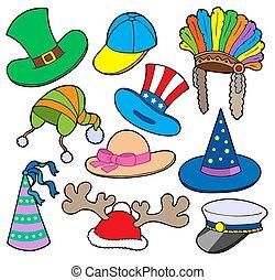 chapeaux, 2, divers, collection