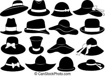 chapeaux, illustration