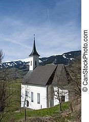 Chapel at the Castle Kaprun, Pinzgau, Austria