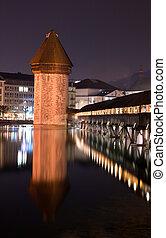 Chapel bridge Lucerne, Switzerland