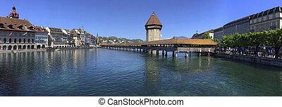 Chapel Bridge - Luzern - Switzerland