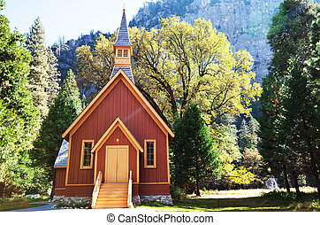 Chapel - chapel in Yosemite