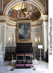 Chapel from Achillion palace - Corfu, Greece