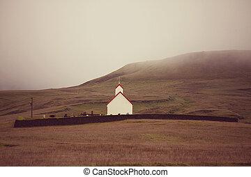 Chapel in Iceland