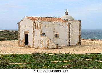 Chapel in Sagres, Algarve, Portugal - Simple chapel in ...