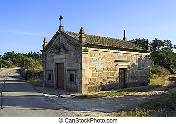 Chapel of St John in Mesquitela - View of the small Chapel ...