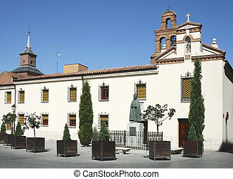 Chapel of university of Alcala