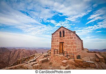 Chapel on mount sinai - Greek orthdox chapel on mount sinai...